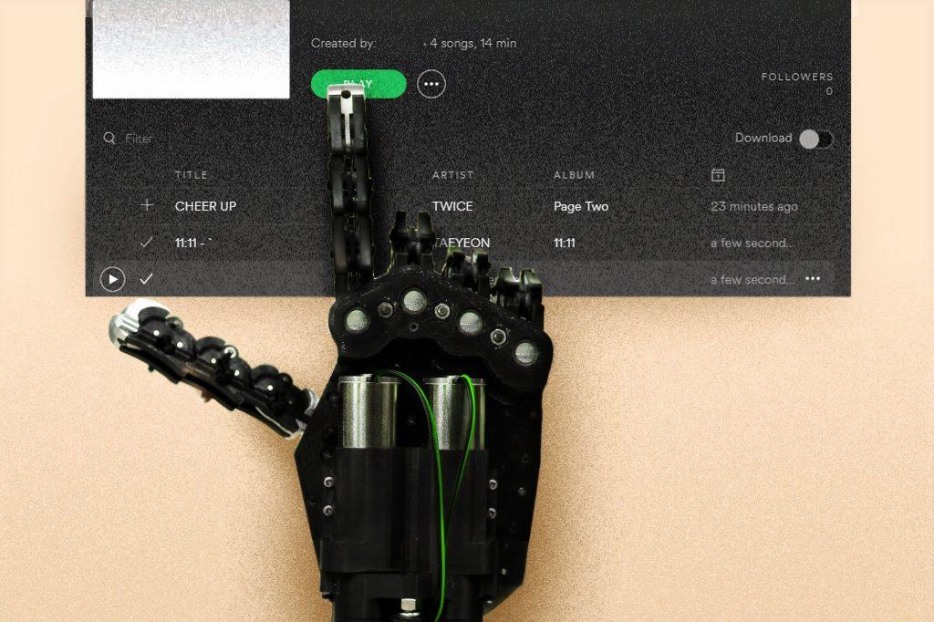Bennett Data Science Tech Tuesdays Spotify Recommender Robot